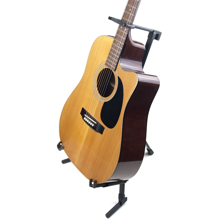 Versatile A-Frame Guitar Stand with Gooseneck at The Music Stand