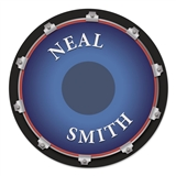 Personalized Drum Mouse/Practice Pad