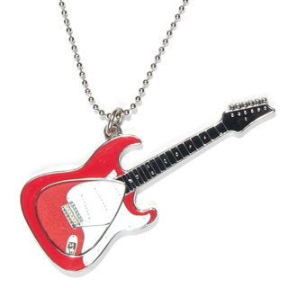 Picklace Red Electric Guitar Pick Holder