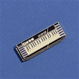 Electric Keyboard Enameled Pin