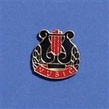 'Music' Enamel Pin