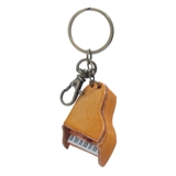 Leather Piano Keychain