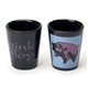 Pink Floyd Flying Pig Ceramic Shot Glass