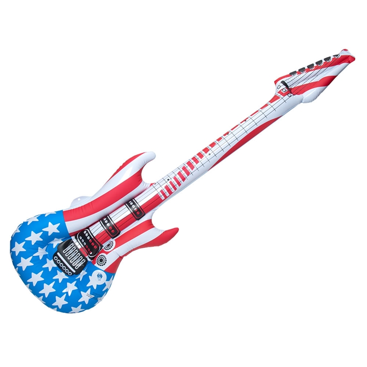 guitar wall decor.htm inflatable stars   stripes guitar party decoration at the music stand  stars   stripes guitar party decoration