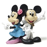 Mickey and Minnie Disco Figurine