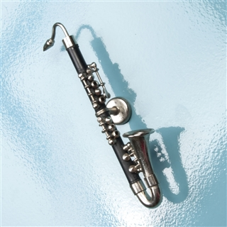 Miniature Bass Clarinet Magnet