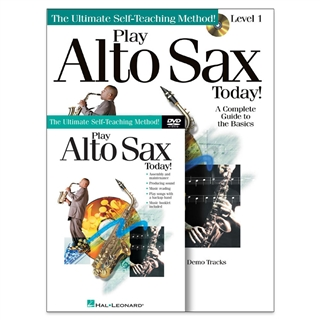 Play Alto Sax Today Book, CD & DVD Set
