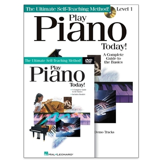 Play Piano Today Book, CD & DVD Set