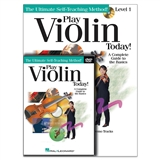 Play Violin Today Book, CD & DVD Set
