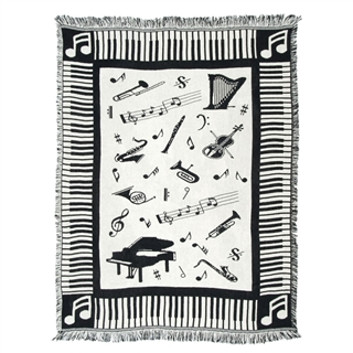 Love of Music Throw