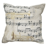 Comfort Music Tapestry Pillow