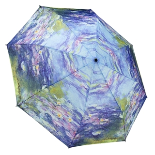 Monet's Water Lilies Compact Umbrella