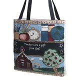 Teachers Are A Gift Tapestry Tote