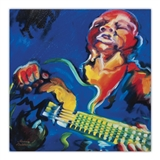 Jazz Guitar Canvas Print