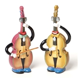 Double Bass Salt & Pepper Shakers