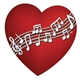 Heart Full of Music Magnet