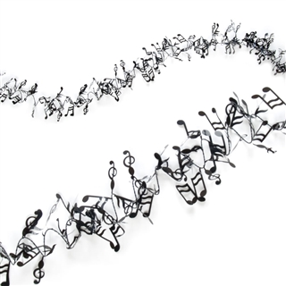 Music Melody Stretchable Garland