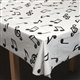 Music Notes Tablecloth