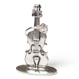 Pewter Violin Ring Holder