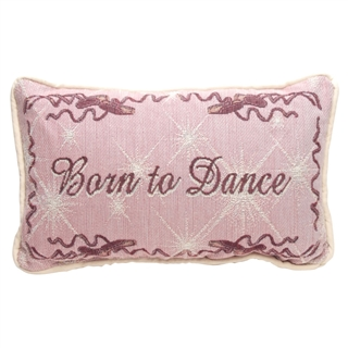 Born To Dance Tapestry Pillow
