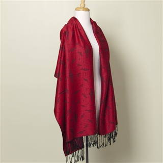 Treble Clef & Music Scarf