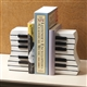 Wavy Keyboard Bookends