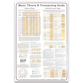 Music Theory Laminated Poster