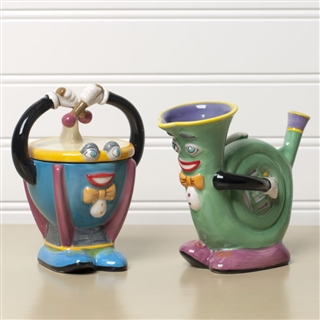Timpani and Horn Sugar & Cream Set