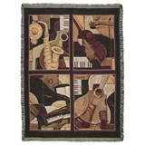 Four Quartets Tapestry Throw
