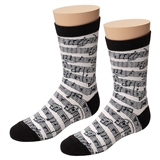 Child's Music Notes Socks