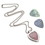 Guitar Pick Holder Necklace