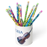 Personalized Instrument Pencil Holder