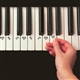 EZ Play Piano Keys Stickers