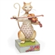 Jim Shore Cat & The Fiddle Figurine