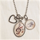 Music Lover Charms Necklace