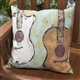 Guitar Dreams Indoor/Outdoor Pillow