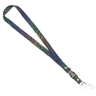 Chromatic Notes Neck Strap & Lanyard