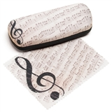 Sheet Music Eyeglasses Case