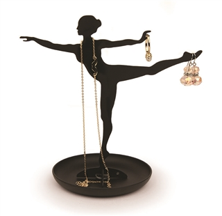 Ballerina Silhouette Jewelry Holder
