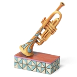 Jim Shore Mini Trumpet Figurine