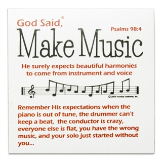 God Said Make Music Magnet