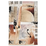Jazz Medley II Tapestry Wall Art
