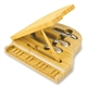 Baby Grand Wine & Cheese Serving Set