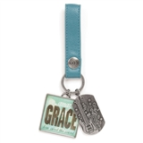 Amazing Grace Keychain