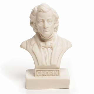 Chopin Vinyl Mini Bust