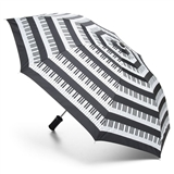 Piano Keys Compact Umbrella