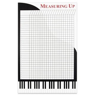 Grand Piano Incentive Wall Chart