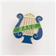 Lyre 'Band' Enameled Pin