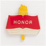 Academic Honor Enameled Pin