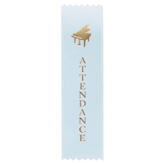 Piano 'Attendance' Ribbons